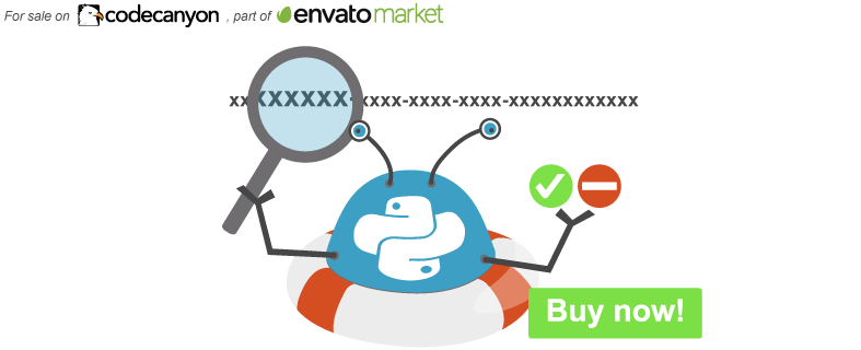 Button buy the WeePie Envato Purchase Code and Support Checker