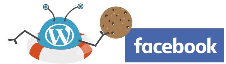 Illustration of blocking Facebook cookies