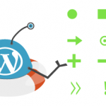 Illustration of examples of custom list bullets in WordPress by the WeePie Custom List Bullets Plugin